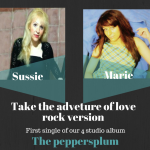 Peppersplum – Take The Adventure Of Love (2016, Single, available on iTunes)